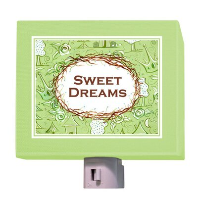 Sweet Dreams Night Light Color: Green