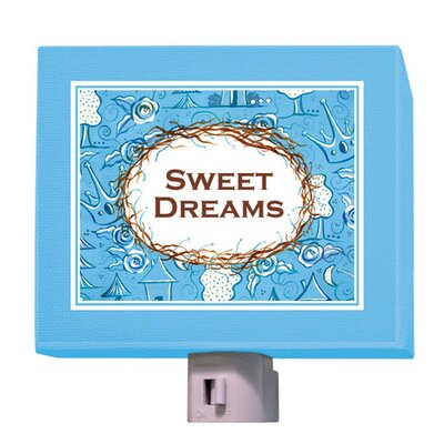 Sweet Dreams Night Light Color: Blue