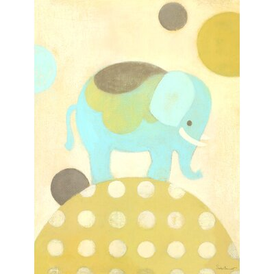 Ella Elephant Canvas Art PE4024