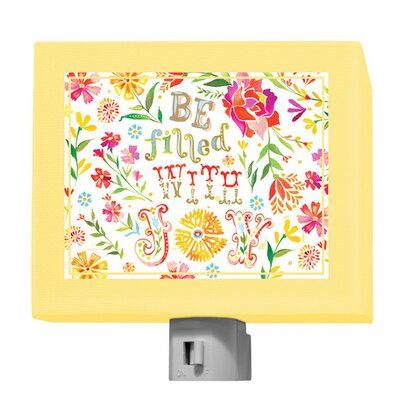 Be Filled with Joy Night Light