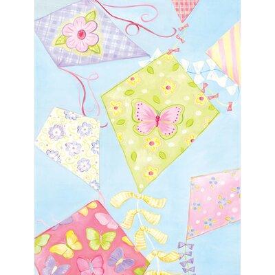 Pastel Kites Canvas Art