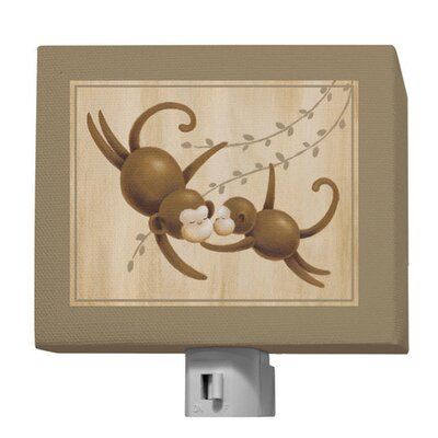 Safari Kisses - Monkey Night Light