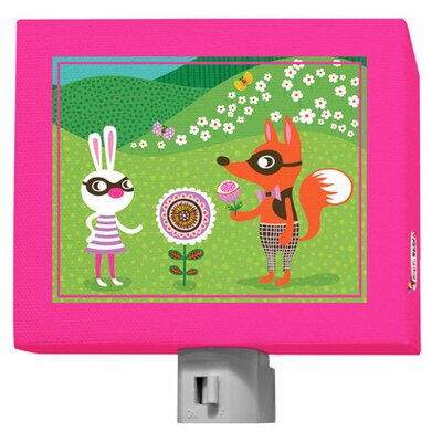Funky Woodland Creatures Night Light