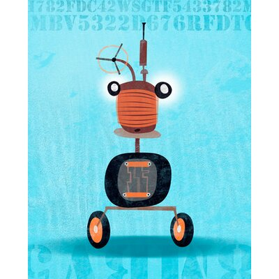 Rumbling Robots - Dirk Canvas Art