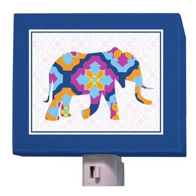 A to Z Animal Prints Elephant Night Light