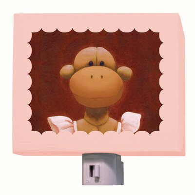 Ballerina Monkey Night Light