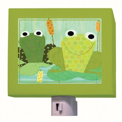 Friendly Frogs Night Light