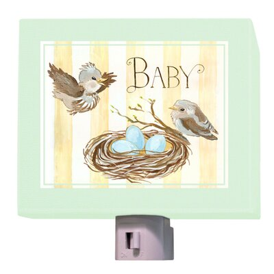 Baby Birds Nest Night Light