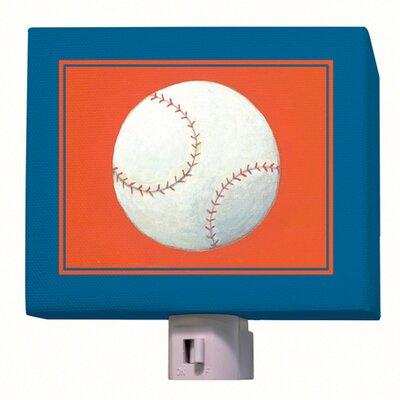 Baseball Night Light