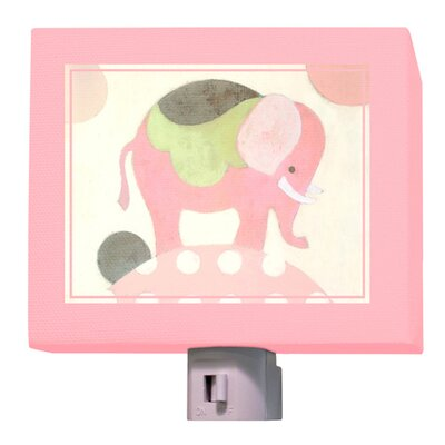 Ella Elephant Night Light Color: Pink