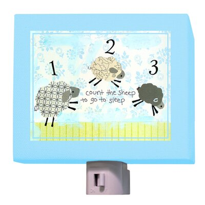 Counting Sheep Night Light Color: Blue