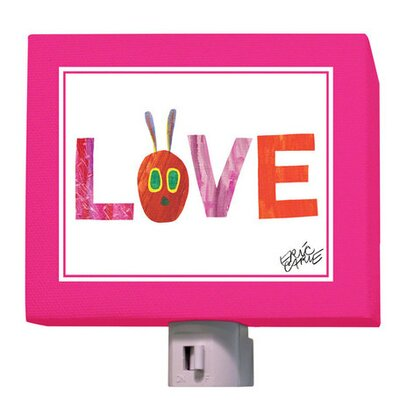 Eric Carles Very Hungry Love Night Light
