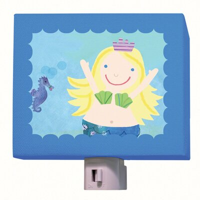Blonde Mermaid Night Light