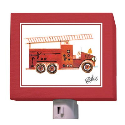 Eric Carle's Fire Engine Night Light