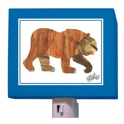 Eric Carles Brown Bear Night Light