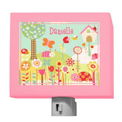 Pretty Ladybugs Personalized Night Light