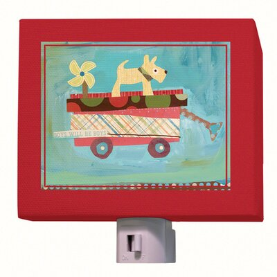 Pup on a Wagon Night Light