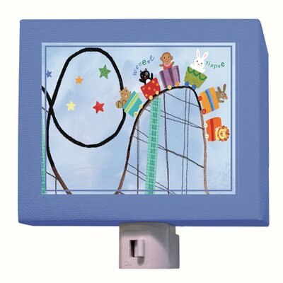 Rollercoaster Ride Night Light