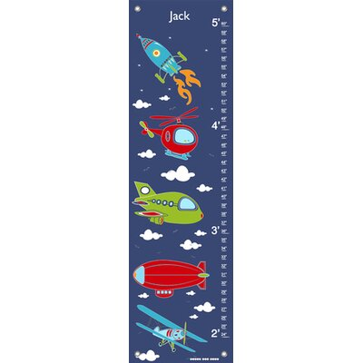 Sky Rides by Finny and Zook Personalized Growth Chart NB21932