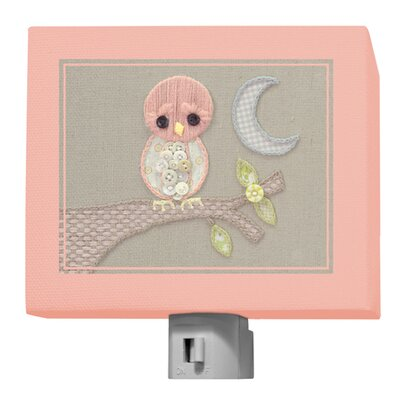 Vintage Baby Owl by Kristen White Night Light