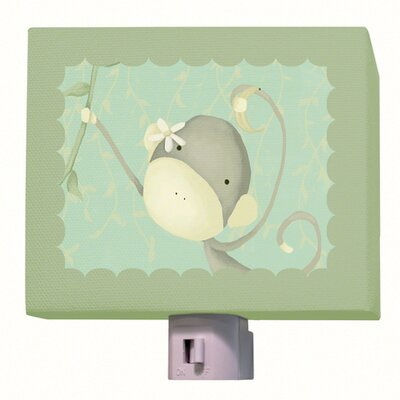 Dangle Monkey Night Light Color: Green
