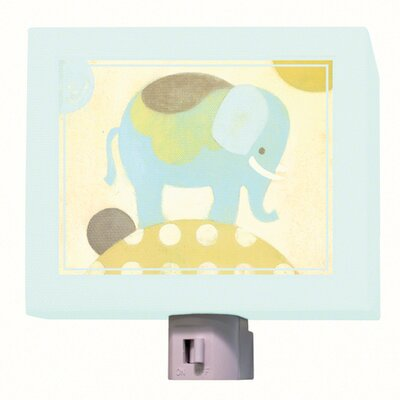 Ella Elephant Night Light Color: Blue