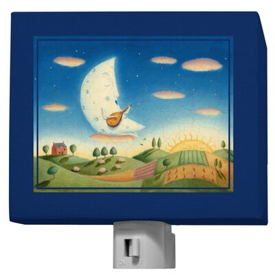 Musical Moon Night Light