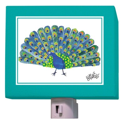 Eric Carles Peacock Night Light