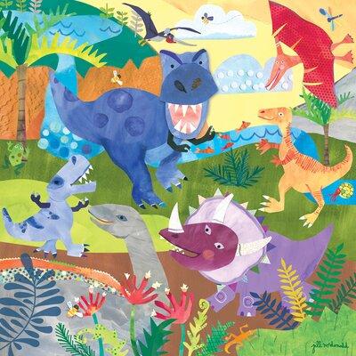 Dinosaur Roar Canvas Art NB48703