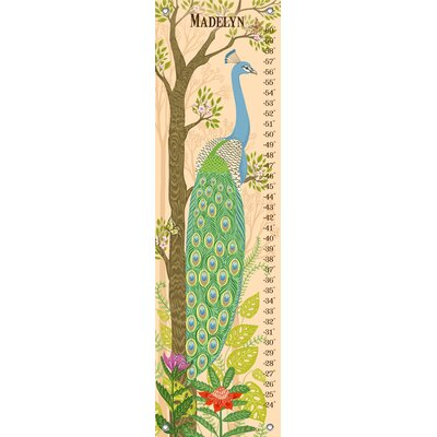 Jungle Oasis - Peacock Growth Chart NB49142
