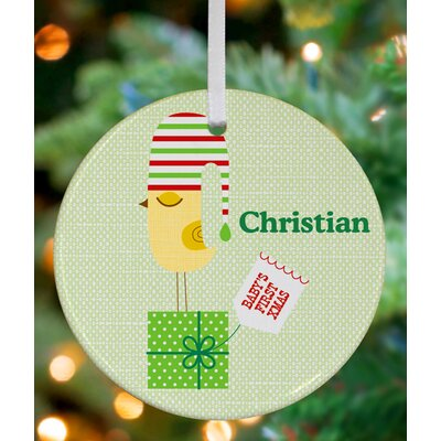 First Christmas Birdie Personalized Ornament by Suzy Ultman