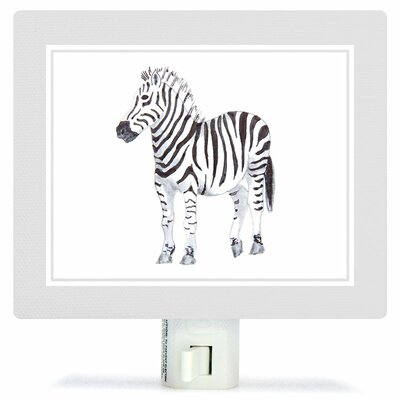Animal Kingdom - Zebra by Brett Blumenthal Canvas Night Light