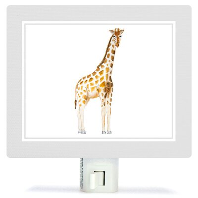 Animal Kingdom - Giraffe by Brett Blumenthal Canvas Night Light
