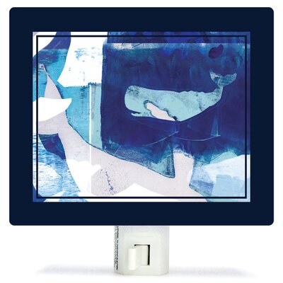 Deep Sea by Barbara Chotiner Canvas Night Light