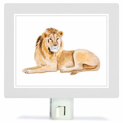 Animal Kingdom - Lion by Brett Blumenthal Canvas Night Light