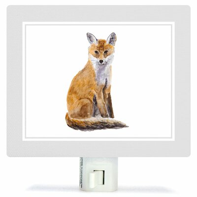 Animal Kingdom - Fox by Brett Blumenthal Canvas Night Light