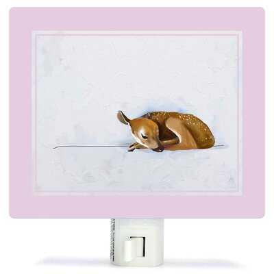 Baby Fawn by Cathy Walters Canvas Night Light
