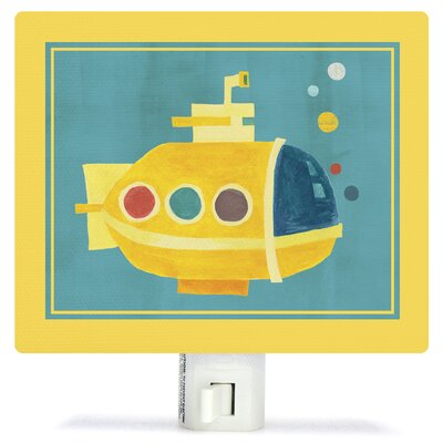 Transportation Submarine by Irene Chan Canvas Night Light