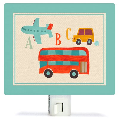 Transportation a to Z by Canvas Night Light