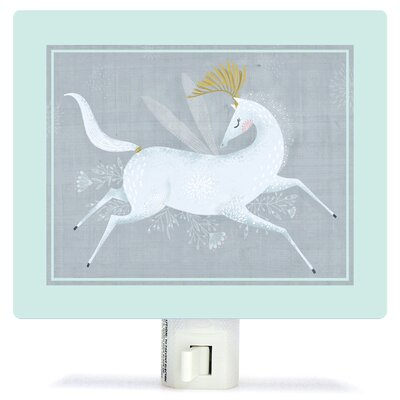 Beneath The Moonlight by Antoana Oreski Canvas Night Light