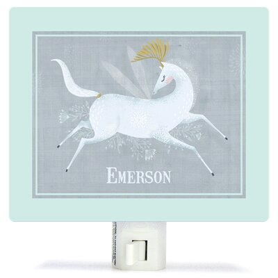 Beneath The Moonlight by Antoana Oreski Personalized Canvas Night Light
