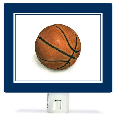Non-Personalized Sports and Games Basketball Canvas Night Light