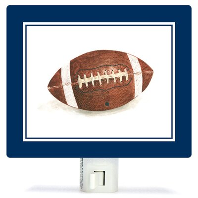 Non-Personalized Sports and Games Football Canvas Night Light