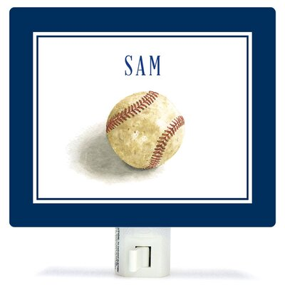Personalized Sports and Games Game Ball Canvas Night Light