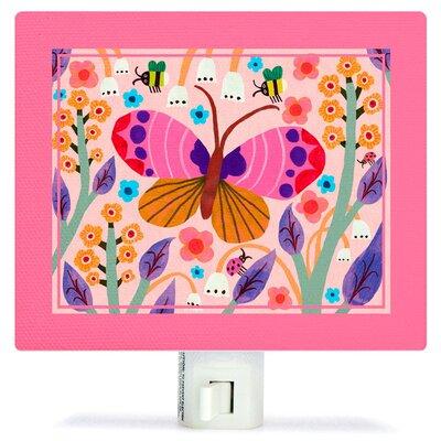 Butterfly Field Canvas Night Light