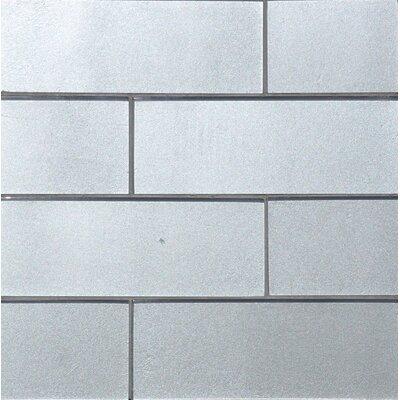 8 x 3 Sparkling Tile in Ash