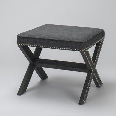 Luna Ottoman Upholstery: Gray
