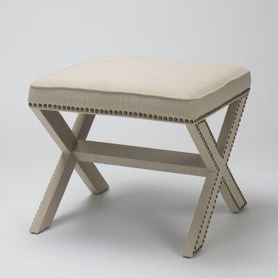 Luna Ottoman Upholstery: Birch