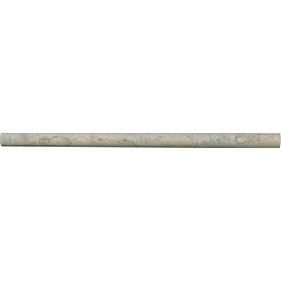 Duvel 12 x 0.62 Limestone Bullnose Tile Trim in Gray