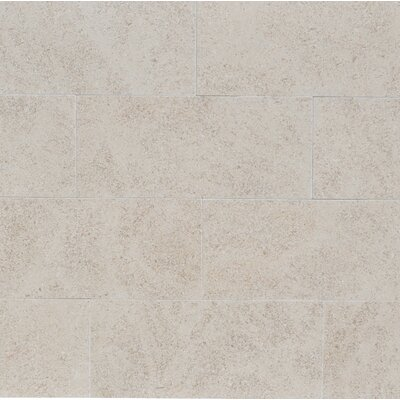 3 x 8 Limestone Field Tile in Beige